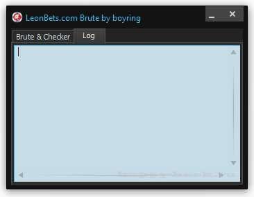 Leonbets.com Brute/Checker