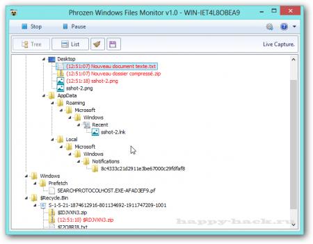 Phrozen файлів Windows Пн 1.1