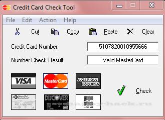 Credit Card Check Tool