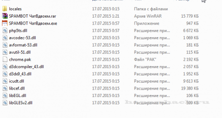 SPAMER для сайту chatvdvoem.ru