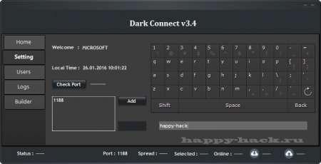 Dark Connect v3.4