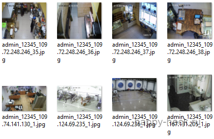 База зламаних веб камер