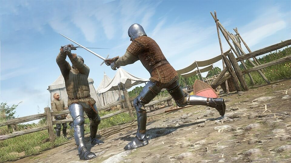 Kingdom Come Deliverance боевая система