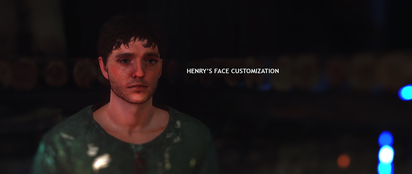 Kingdom Come Deliverance Henry's Face Customization