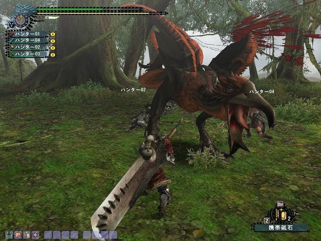 Monster hunter охота