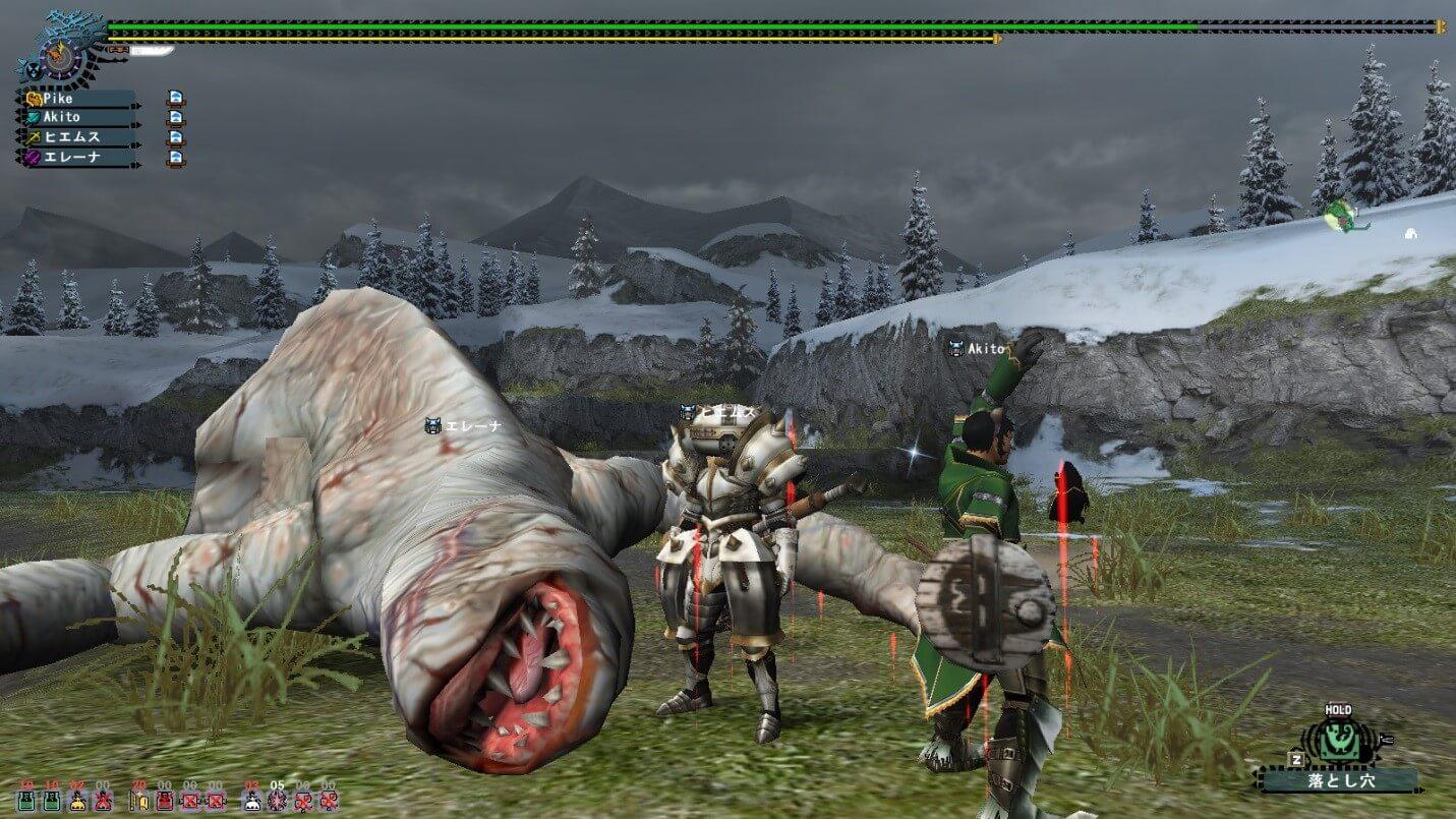 Monster hunter монстр