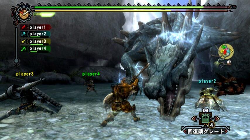 Monster hunter Nintendo