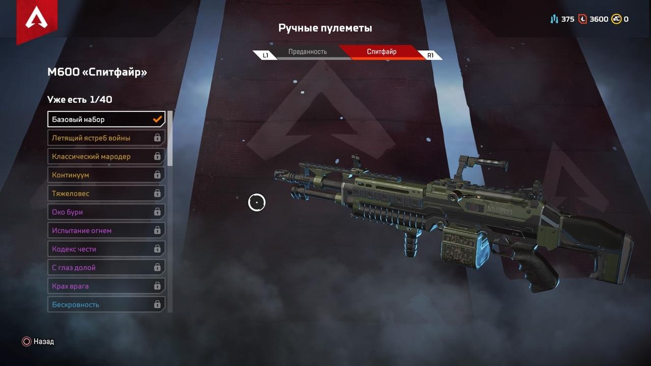 Гайд по оружию Apex Legends: характеристики, преимущества и тактические решения